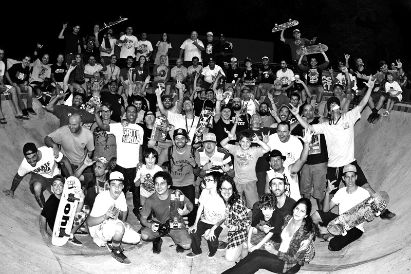 Confraternização final_Old School Skate Jam 2014