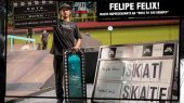 "Nike SB define Felipe Felix na Final do ""Rota to the Berrics""!"