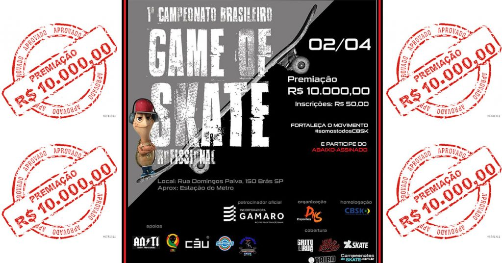 Game Of Skate Profissional