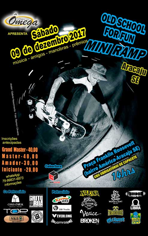 Old School For Fun - Miniramp - Aracaju - SE