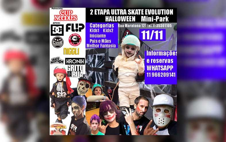 2ª Etapa Ultra Skate Evolution Halloween Mini-Park