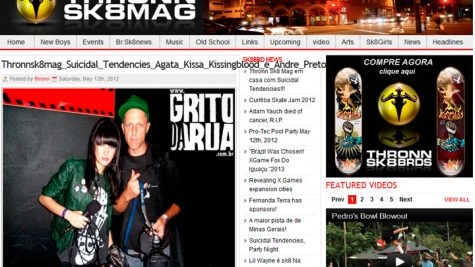 Site Thronn Sk8 Mag na Califa!