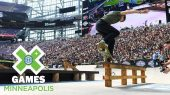 Jagger Eaton leva prata Skateboard Street | X Games Minneapolis 2018